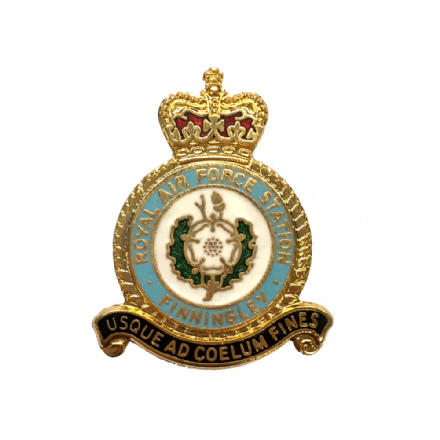 Royal Air Force RAF Station Finningley Lapel Badge